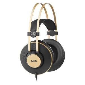 AKG K92 High Performance Closed-Back Monitoring Headphones now £27.50 delivered with Prime at Amazon