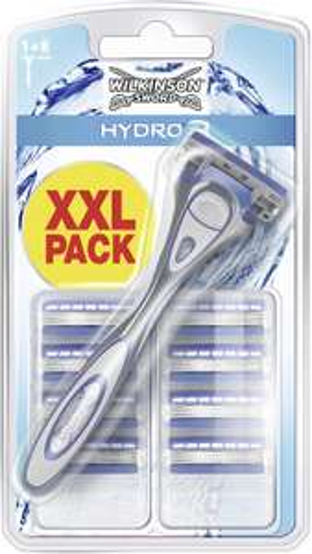 Wilkinson Sword Hydro 3 Men's Razor + Blades x9 £8.25 @ Amazon (Prime Exclusive)