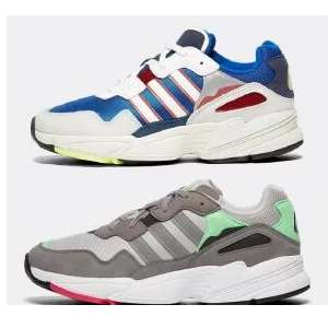 Mens Adidas Yung-96 Trainers Grey (size 7,8,10) / White/Red/Blue (Size 6-12) / White/Grey (size 6,7,9) £23.99 with code @ footasylum ebay