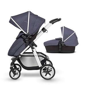 Silver Cross Pioneer Satin Silver Chassis, Seat Unit and Carrycot £534.15 with options to get it to £448 for Amazon Prime.