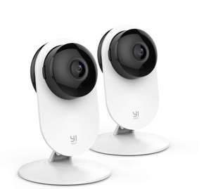 TWO Yi 1080P Home Wireless IP  Indoor Cameras with Night Version Motion Detection with Two Way Audio £40.89 @ Amazon / Seeverything UK