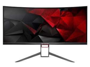 """Acer Predator X34P 34"""" Curved UltraWide QHD 120Hz G-Sync Gaming Monitor (Manufacturer refurbished) £549.99 @ techsave2006 eBay"""