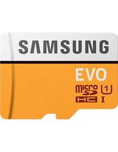 Samsung 32GB EVO Micro SD with Adaptor only £4.99 at Carphone Warehouse