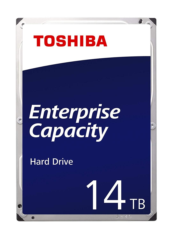 Toshiba Enterprise HDD 14TB 3.5'' SATA 6Gbit/s 7200RPM £336.99 @ Amazon Prime Exclusive