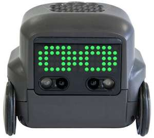Boxer — Interactive AI Robot Toy (Black) with Personality and Emotions, for Ages 6 and Up - £20 at Amazon Prime