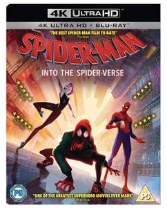 Spider-Man Into the Spider-verse 4K Blu-Ray £11.50 at Amazon (Prime Exclusive)