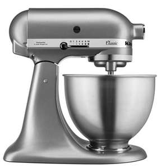 KitchenAid 5K45SSBSL Classic Stand Mixer, Die-cast Zinc - £279.99 at Amazon Prime Exclusive