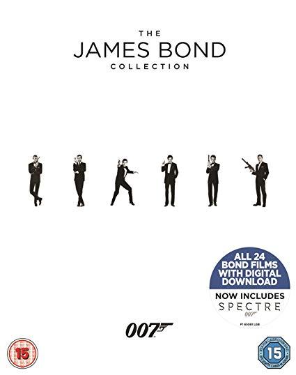 James Bond Collection Films 1-24 (Blu-Ray) £28.69 @ Amazon Prime
