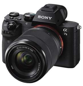 Sony Alpha A7 ii ILCE7M2KB Full Frame Camera with SEL2870 Lens Kit £1,039 @ Amazon Prime Exclusive - Possible £300 cashback via Sony