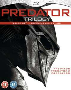 Predator Trilogy Blu-ray used £3.59 delivered with code @ Music Magpie