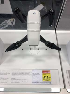 DJI Spark Drone reduced to £215 Instore at Curry's