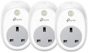 TP-Link Smart WiFi Plug, Works with Amazon Alexa (Echo and Echo Dot), Google Home and IFTTT (3-pack) £39.99 Amazon Prime Day Deal