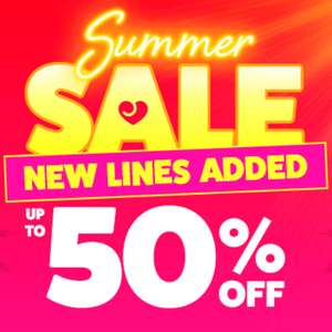 Up to 50% Off Sale + extra £15 Off when you spend £50 @ LoveHoney