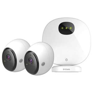 D-Link DCS-2802KT-EU-Pro Wire Free Battery Camera Kit - £246.99 at Amazon Prime Exclusive