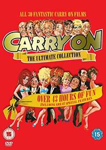 Carry On - The Complete Collection [1958] - DVD @ Amazon UK - £16.79 (Prime Day deal)