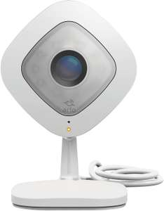 Arlo Q Smart Home 1080p Full HD Security Camera, Night Vision and Full 2-Way Audio, Works with Amazon Alexa, White (Prime Exclusive) £99.99