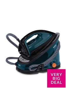 Tefal GV6839 Effectis Anti-Scale High Pressure Steam Generator, 2200W - Black and Green £99.99 @ Very