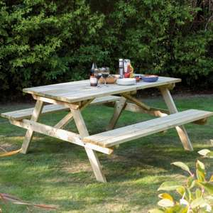 Rowlinson Garden Picnic Bench 5ft now £66.99 delivered @ JTF