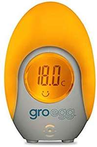 The Gro Company Groegg Colour Changing Room Thermometer £8.49 @ Amazon Prime
