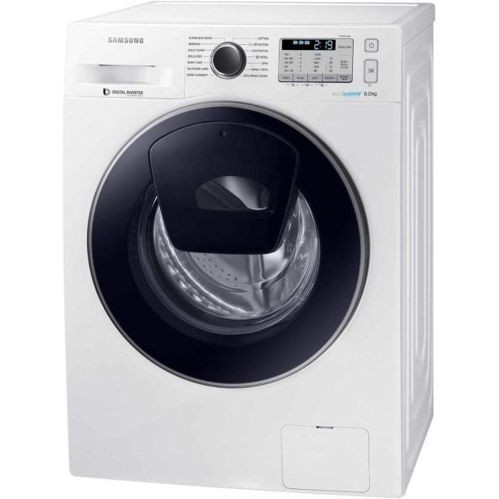 "Samsung WW80K5413UW 8KG 1400RPM AddWash™ Washing Machine *Free 5 Year Warranty"" £319.20 w/code @ Crampton&Moore ebay"