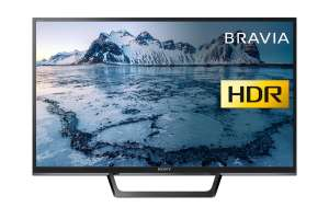 Sony Bravia KDL32WE613BU (32-Inch) HD Ready HDR Smart TV £199 at Amazon-lightning deal