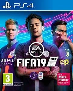 FIFA 19 on Xbox One for £15 download, PS4 / Xbox One £17.99 delivered (with prime), £13.99 PC download - Amazon Prime Day