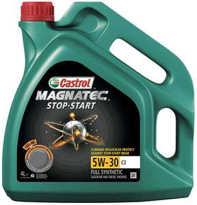 Castrol MAGNATEC STOP-START Engine Oil 5W-30 C3, 4L £20 Amazon Prime Day Deal