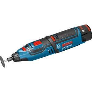 Bosch GRO 12V-35 Cordless Rotary Multi-Tool incl 2x 2.0ah batteries & L-Boxx (AMAZON PRIME DAY) £101.49