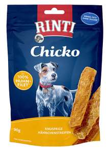 Rinti Dog Treats Extra Chicko Huhn 90 g Pack of 12 x 90 g £7.34 (+£4.49 Non Prime) @ Amazon