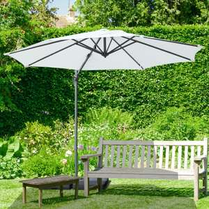 OutSunny Rotating Cantilever Parasol £70.99 with code @ ebay / OutSunny