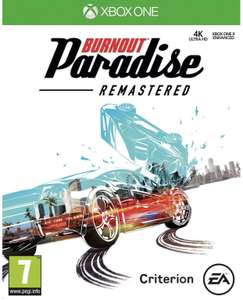 Burnout Paradise Remastered £4.99 with gold (£6.59 without) @ Microsoft store
