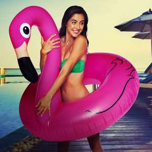 BigMouth Giant Pink Flamingo Pool Float - £5.63 Add On Item Sold by Findmeagift and Fulfilled by Amazon.
