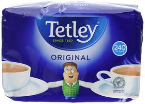 240 Tetley Tea Bags for £3 in Morrisons