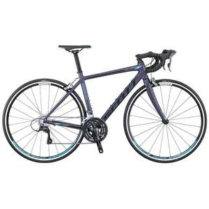 Scott Contessa Speedster 45 Womens Road Bike Purple Blue now £279.99 with code @ Rutland Cycling