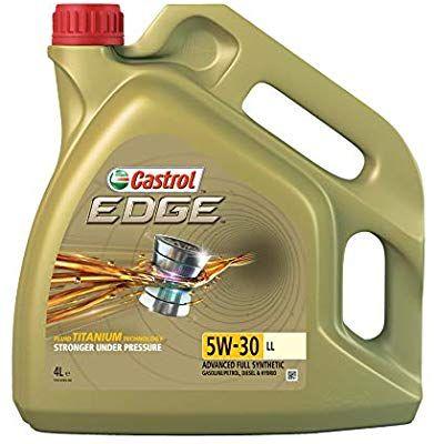 Castrol Titanium Long-life EDGE 5W-30 LL Engine Oil, 4L - Gold £23.54 Amazon Prime Day Deal