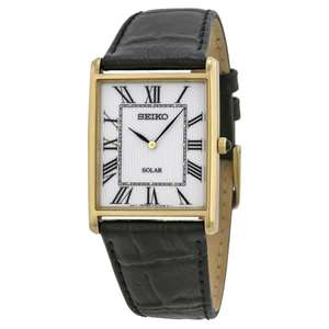 Seiko Solar SUP880P9 Dress Watch, 28.5mm, Hardlex Crystal, V115 Caliber, Deal Of The Day (Prime Exclusive Deal) £63.35 @ Amazon Global Store