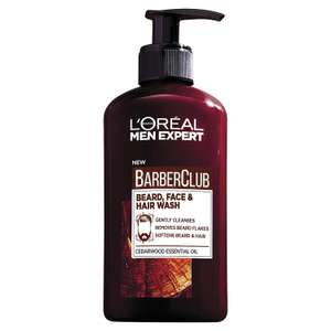 L'Oreal Men Expert Barber Products £4.20 on Amazon Prime Day