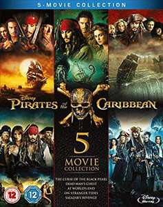 Pirates of the Caribbean 1-5 Blu-ray Box Set £12.75 delivered with Prime @ Amazon