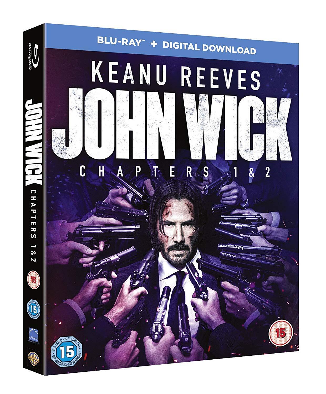 John Wick: Chapters 1 & 2 (Blu-ray + Digital Download) - £6.29 @ Amazon (Prime)