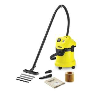 Karcher WD3P Wet and Dry Vacuum Hoover £69.99 Amazon