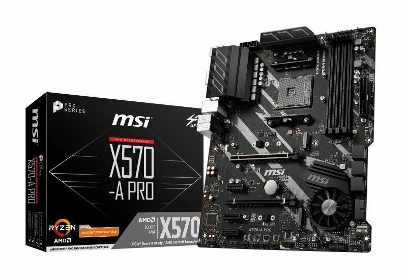 MSI X570-A PRO AM4 DDR4 ATX Motherboard £153.75  ebay ebuyer_uk_ltd