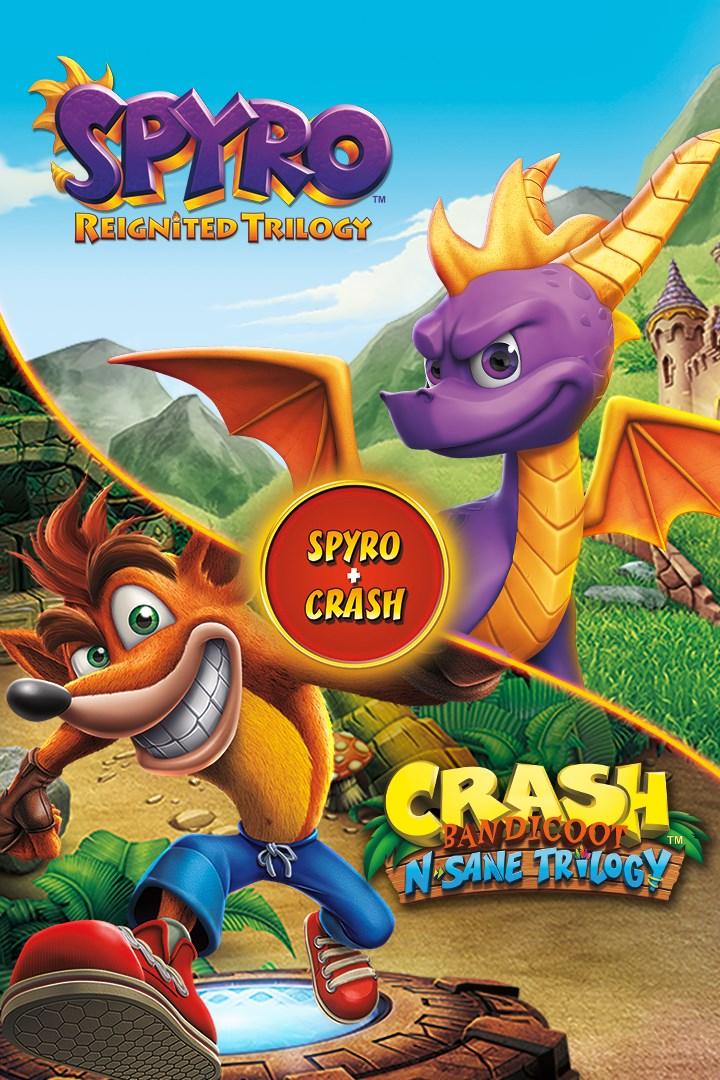 [Xbox One] Spyro Reignited Trilogy & Crash Bandicoot N Sane Trilogy Bundle £32.99 with Gold @ Microsoft Store