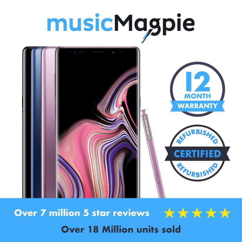 Samsung Galaxy Note 9 128gb good condition - £351.99 using code @ musicmagpie ebay