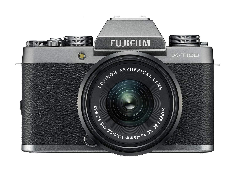 Fujifilm X-T100 Dark Silver with Black XC15-45mm lens  £429 Amazon Prime