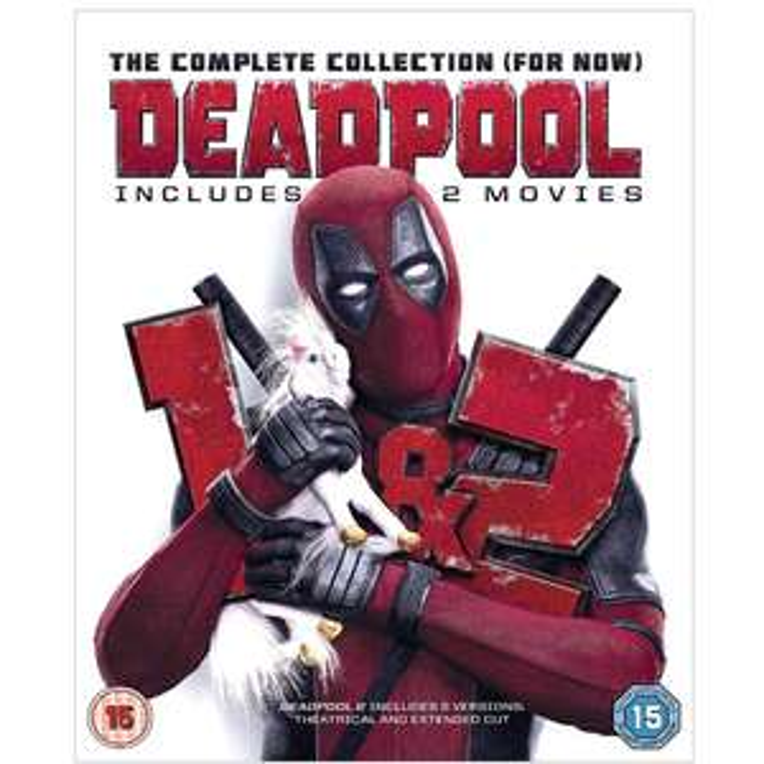 Deadpool Double Pack Blu-Ray £7.99 w/ Amazon Prime