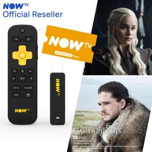 NOW TV Smart Stick with HD & Voice Search with 2 Month Entertainment Pass £11.58 (Prime Exclusive) @ Sold by Boss Deals/Distribution and FBA