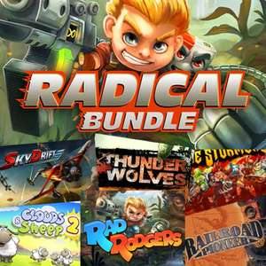 Fanatical Radical Bundle for PC/Steam - Tier 1 - 3 Games 79p / Tier 2 - 12 Games £3.95 @ Fanatical - See OP