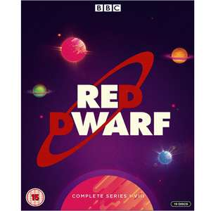 Red Dwarf - Complete Series 1-8 16x Blu-ray, Box Set £21.69 @ Amazon Prime Day Exclusive