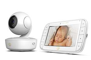 Motorola MBP50 Video Baby Monitor with Large 5-inch Full Colour Curved Parent Display Unit - £84.17 Amazon Prime Lightning Deal