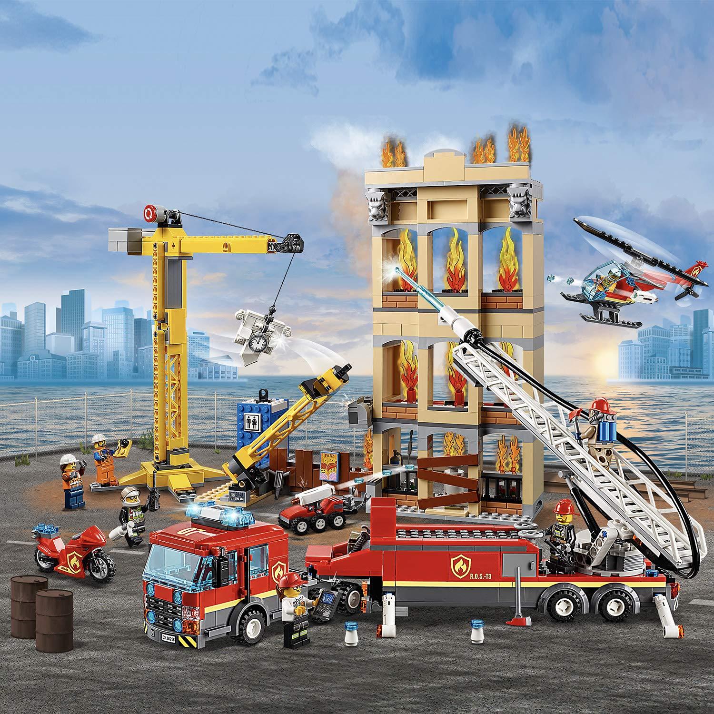 LEGO City Downtown Fire Brigade 60216 now £59.95 @ eBay / jadlamracing
